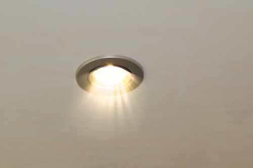 radiant ceiling spot lamp