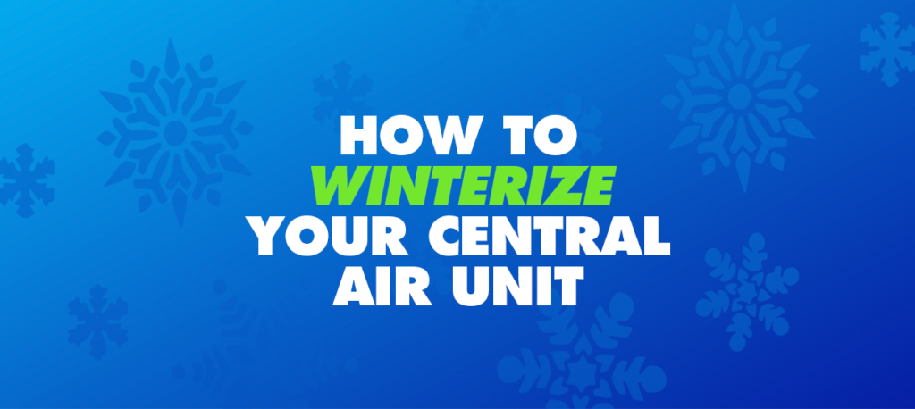 How to Winterize Your Central Air