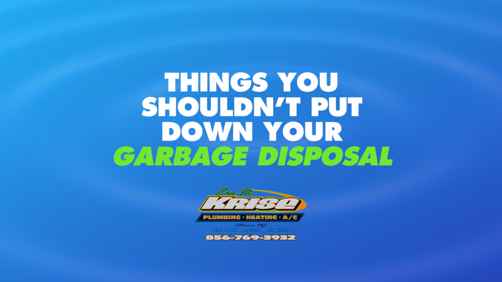 Things You Shouldn't Put Down Your Garbage Disposal